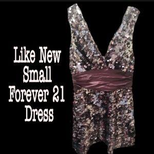 Like new forever 21 sequined dress